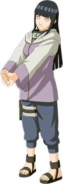 Хината Хьюга: сестра Неджи, влюбленная в Наруто